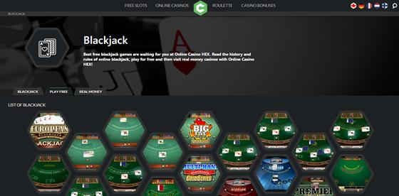 online casino hex